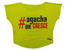 Blusas Femininas | Blusa Cropped Costas Rasgadas Agacha Que Cresce Amarela  Acesse: http://www.spbolsas.com.br/atacado/ #Regatas #Femininas #Atacado