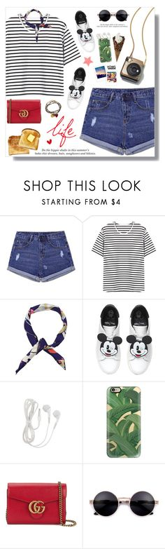 """""""Yoins"""" by fashiondiaryy ❤ liked on Polyvore featuring MOA Master of Arts, H&M, Casetify, Gucci, Me to We, Toast, yoins, yoinscollection and loveyoins"""