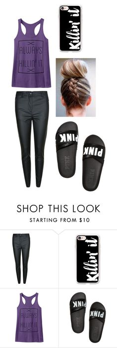"""""""Untitled #6"""" by faith12485 on Polyvore featuring Belstaff, Casetify and Victoria's Secret"""