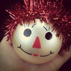 ADORABLE DIY Hannah Ornament!