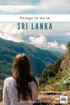 Sri Lanka Travel: 12 Places to Visit