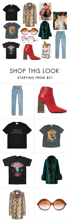 """""""old rock new style"""" by skybluepatricia on Polyvore featuring Vetements, Emilio Pucci, Gucci, Levi's, Jagger, Velvet and Balenciaga"""