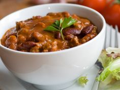 """Chilly Day Chili Con Carne"" from Cookstr.com #cookstr"