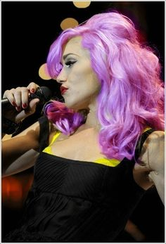 "gwen stefani- giving credit where its due. She started these ""fashion shades""...PROPS!"
