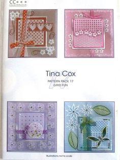 PATTERN PACK 17 - GRID FUN BY TINA COX      Pattern Pack Grid Fun by Tina Cox.