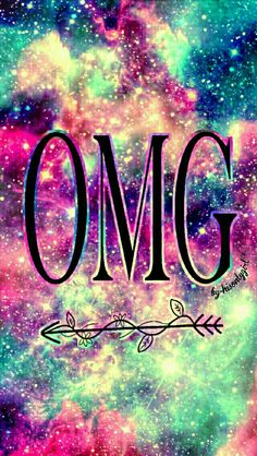 OMG galaxy wallpaper I created for the app CocoPPa.
