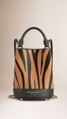 Burberry Prorsum The Bucket Backpack In Animal Print Calfskin Sac College, Bucket Backpack, Animal Print Fashion, Animal Print Bags, Burberry Handbags, Burberry Purse, Best Bags, Beautiful Bags, My Bags