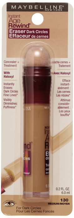 Buy Maybelline New York Instant Age Rewind Eraser Dark Circles Treatment Concealer, Medium 30/130, 0.2-fluid Ounce Online at Low Prices in India - Amazon.in