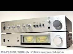 PHILIPS 260/360 set Hifi Music System, Audio System, Hifi Audio, Audio Speakers, Hi Fi System, Stereo Amplifier, Record Players, High End Audio, Technology Design