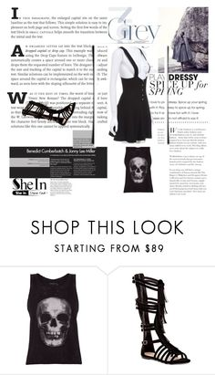 """""""Untitled #255"""" by faeryrain ❤ liked on Polyvore featuring ElevenParis and Top Guy"""