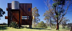 The Box House, a basic off-grid cabin in the Australian bush… Off Grid House, Off Grid Cabin, Advantages Of Solar Energy, Australian Bush, Box Houses, Small Houses, Dream Houses, Solar Powered Lights, Small House Design