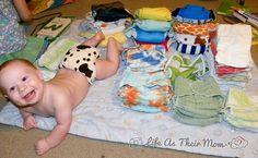 cloth diaper stash-Life as Their Mom