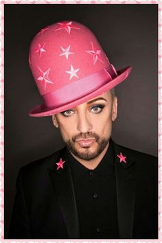 Success: With his first major record deal in almost a new Culture Club album and a forthcoming Las Vegas residency, Boy George is enjoying a return to form – and a dramatic reversal of fortune George Hats, Boy George, Marc Bolan, 11. September, Culture Club, Mens Caps, Concert Posters, New Shows, Bearded Men