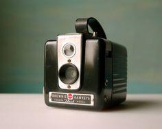 Vintage Camera. Bakelite Kodak Brownie Hawkeye