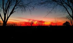 sunset at westview