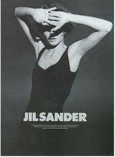 Some of my favorite Jil Sander ads