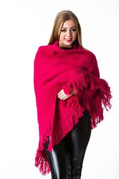 B.loved sjaal ala manos del Uruguay in Virtual Pink.