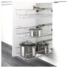METOD High cabinet w shelves/wire basket Black/kungsbacka anthracite IKEA Ikea Kitchen Drawers, Kitchen Cabinet Pulls, Custom Kitchen Cabinets, Kitchen Furniture, Ikea Kitchen Organization, Cupboard, Medicine Organization, Kitchen Counters, Furniture Stores