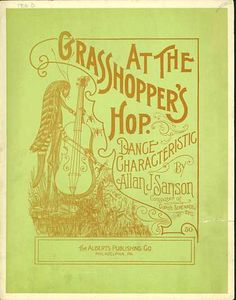 Sheet Music - At the grasshoppers hop