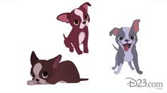 Meet Winston, the adorable puppy behind one of Walt Disney Animation Studios' most successful shorts. Cute Dog Drawing, Cute Drawings, Disney Dogs, Disney Art, Punk Disney, Disney Movies, Disney Characters, Animal Design, Dog Design
