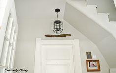 $5 Goodwill Light Makeover at Creatively Living Blog