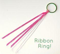 DIY Ribbon Ring from www.Crafterina.com