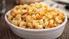 """Vegan & Gluten-Free Mac and """"Cheese""""  Whether you're vegan, lactose intolerant or want a lighter meal, this dairy-free macaroni and cheese is ideal! In fact, it's the fail-proof recipe everyone needs."""