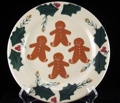 Hartstone Gingerbread dessert plate 7.75  made in USA & Hartstone Pottery Gingerbread Dinner Plate (1 available ...