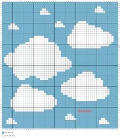 Free corner to corner graphgan clouds kawaii crochet pattern free wolke decke hkeln bulut rg graph crochet pattern free blankets projects around the world quilt granny square blanket free crochet pattern Crochet Afghans, C2c Crochet Blanket, Crochet Sheep, Tapestry Crochet Patterns, Crochet For Beginners Blanket, Crochet Motifs, Crochet Stitches, Crochet C2c Pattern, Free Crochet