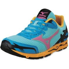 Mizuno Wave Musha 5 Road-Running Shoes - Women's The colors are so pretty!