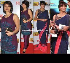 Amala Akkineni And Lakshmi Manchu At Filmfare South Awards 2013