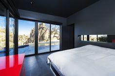 Design und Luxus in einer Villa in der Wüste Kaliforniens