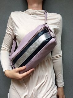 7e98a1ba2100 Items similar to Cross Body Leather Bag