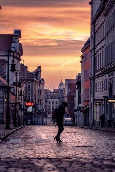 Sunset- Poznan Poland