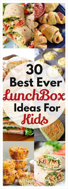 30 Best Ever Lunch box Ideas For Kids
