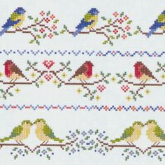 Thrilling Designing Your Own Cross Stitch Embroidery Patterns Ideas. Exhilarating Designing Your Own Cross Stitch Embroidery Patterns Ideas. Cross Stitch Bird, Cross Stitch Borders, Cross Stitch Flowers, Counted Cross Stitch Patterns, Cross Stitching, Bird Embroidery, Cross Stitch Embroidery, Embroidery Patterns, Knitting Machine Patterns