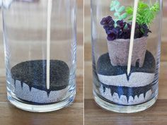 Attention green friends:my second kit with Makers Kit drops today! It was a recent obsession with cultivating my own green thumb (more on that later) and a nostalgic rediscovery of sand art that inspiredthe concept behind this easy to make terrarium.I've always enjoyed building my own mini