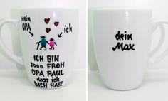 ♥Opa Tasse als persönliches Geschenk für besten Opa♥   Mit dieser liebenswerten Opa Tasse weiß ab sofort dein OPA das er der Super OPA ist.  Schöne Tasse für Opa, deine persönliche Geschenk...