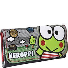 Loungefly Sanrio Keroppi Wallet - Green/Multi - via eBags.com!