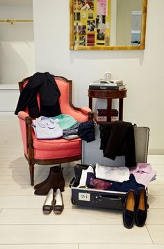 The owner of two eponymous clothing boutiques, in Atlanta and Houston, Mashburn is constantly on the go—traveling between stores, going to Milan, Paris, and London for work, and squeezing in the occasional vacation. Here's what's always in her suitcase.