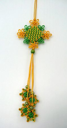 Extra Fancy Panchang Knot (Tutorial @ yanguang816)