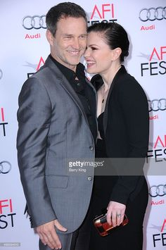 Actor Stephen Moyer and actress Anna Paquin attend the AFI FEST 2015 Presented By Audi Centerpiece Gala Premiere Of Columbia Pictures' 'Concussion' at the TCL Chinese Theatre on November 10, 2015 in Hollywood, California.