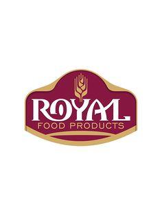 1 new message Typo Logo Design, Food Graphic Design, Food Logo Design, Brand Identity Design, Branding Design, Packaging Design, Food Brand Logos, Logo Food, Royal Logo