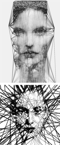 Generative Experiments: Digital Illustrations by Sergio Albiac. S)