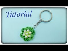Quilling Keychain / How to make quilling keychain / Tutorial - YouTube Quilling Keychains, The Creator, Paper, Youtube, How To Make, Youtubers, Youtube Movies