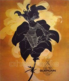 Guerlain Chamade // the closest I come to a favorite perfume // chilly galbanum softens into pollen-rich hyacinth, which ever-so-slowly slowly mellows into sandalwood incense