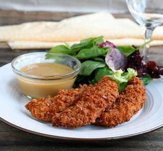 Pretzel Faux-Fried Chicken