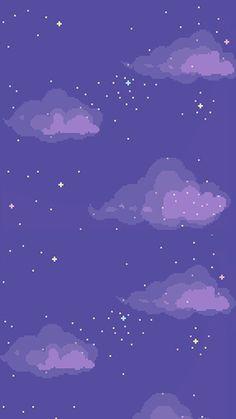 Pixel sky wallpaper