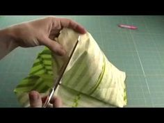 The best video on making Continuous Bias Tape (tube method) via Whipstitch