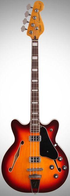 Fender Coranado Bass Guitar --- https://www.pinterest.com/lardyfatboy/